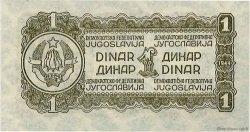 1 Dinar YOUGOSLAVIE  1944 P.048a pr.NEUF