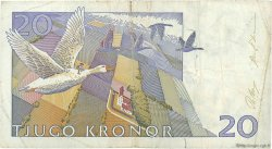 20 Kronor SUÈDE  1991 P.61a TB