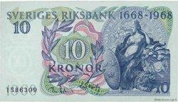 10 Kronor SUÈDE  1968 P.56a pr.SPL