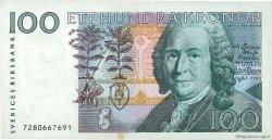 100 Kronor SUÈDE  1987 P.57a SUP