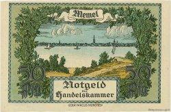 1/2 Mark MEMEL  1922 P.01 SPL