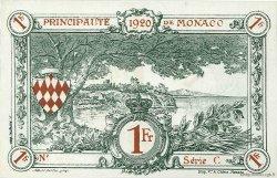 1 Franc MONACO  1920 P.05rs NEUF