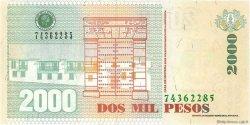 2000 Pesos COLOMBIE  2007 P.457g NEUF
