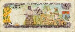 50 Cents BAHAMAS  1965 P.17 TB