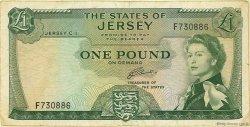 1 Pound JERSEY  1963 P.08b TB