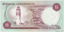 5 Dollars BERMUDES  1970 P.24a NEUF
