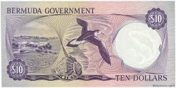 10 Dollars BERMUDES  1970 P.25a NEUF