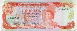 5 Dollars BELIZE  1980 P.39a NEUF