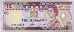 10 Dollars FIDJI  1980 P.079a SPL