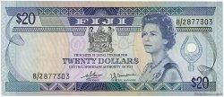 20 Dollars FIDJI  1980 P.080a SUP