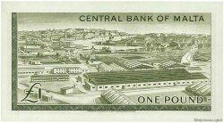 1 Pound MALTE  1969 P.29a NEUF