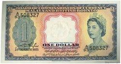 1 Dollar MALAISIE et BORNEO  1953 P.01a SPL+