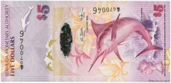 5 Dollars BERMUDES  2009 P.58 SPL