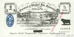 5 Shillings (Swllt) PAYS DE GALLES  1971 P.-- pr.NEUF