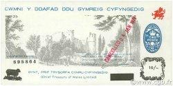 10 Shillings PAYS DE GALLES  1971 P.-- pr.NEUF