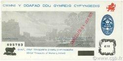 10 Pounds PAYS DE GALLES  1971 P.-- pr.NEUF