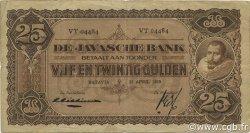 25 Gulden INDES NEERLANDAISES  1929 P.071b TB+