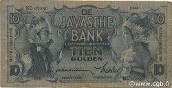 10 Gulden INDES NEERLANDAISES  1934 P.079a TB