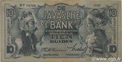 10 Gulden INDES NEERLANDAISES  1937 P.079b TB+
