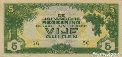 5 Gulden INDES NEERLANDAISES  1942 P.124c SPL
