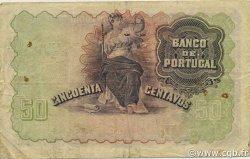50 Centavos PORTUGAL  1918 P.112b TB