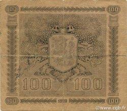 100 Markkaa FINLANDE  1922 P.065a TTB