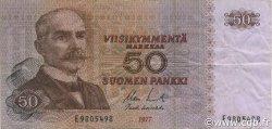 50 Markkaa FINLANDE  1977 P.108a TTB