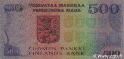 500 Markkaa FINLANDE  1975 P.110a TTB