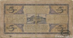 5 Gulden INDES NEERLANDAISES  1931 P.069c B