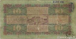 10 Gulden INDES NEERLANDAISES  1930 P.070b B+