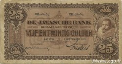 25 Gulden INDES NEERLANDAISES  1929 P.071c TB