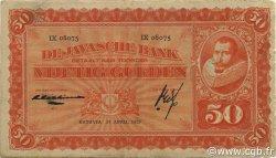 50 Gulden INDES NEERLANDAISES  1929 P.072c TB