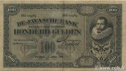 100 Gulden INDES NEERLANDAISES  1930 P.073c TTB+