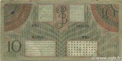 10 Gulden INDES NEERLANDAISES  1946 P.089 TB+