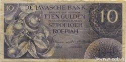 10 Gulden INDES NEERLANDAISES  1946 P.090 pr.TB