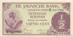 1/2 Gulden INDES NEERLANDAISES  1948 P.097 NEUF