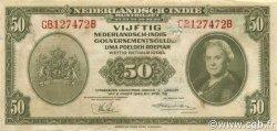 50 Gulden INDES NEERLANDAISES  1943 P.116a B