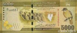 5000 Rupees SRI LANKA  2010 P.128a NEUF