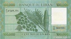 100000 Livres LIBAN  2011 P.95 NEUF