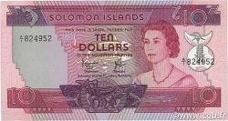 10 Dollars ÎLES SALOMON  1977 P.07b NEUF