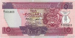 10 Dollars ÎLES SALOMON  1986 P.15a NEUF