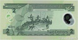 2 Dollars ÎLES SALOMON  2001 P.23 NEUF