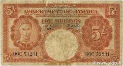 5 Shillings JAMAÏQUE  1950 P.37a B