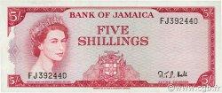 5 Shillings JAMAÏQUE  1964 P.51Ac SUP