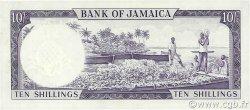 10 Shillings JAMAÏQUE  1964 P.51Bc SPL