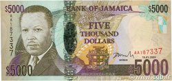 5000 Dollars JAMAÏQUE  2009 P.87 NEUF