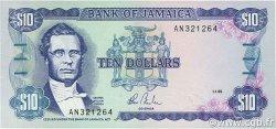 10 Dollars JAMAÏQUE  1985 P.71a NEUF