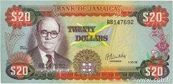 20 Dollars JAMAÏQUE  1978 P.68a NEUF