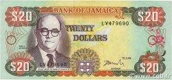 20 Dollars JAMAÏQUE  1999 P.72g TTB