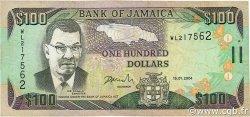100 Dollars JAMAÏQUE  2004 P.80d TB